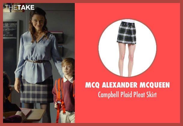 McQ Alexander McQueen black skirt from Before I Wake seen with Scottie Thompson (Teacher)
