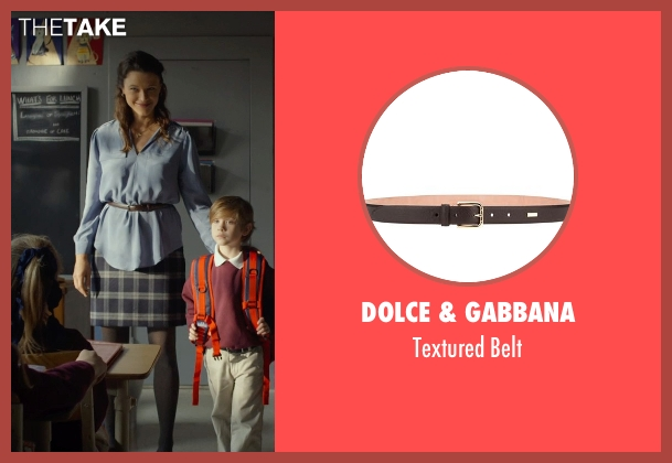 Dolce & Gabbana brown belt from Before I Wake seen with Scottie Thompson (Teacher)