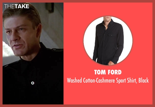 Tom Ford black black from GoldenEye seen with Sean Bean (Alec Trevelyan)