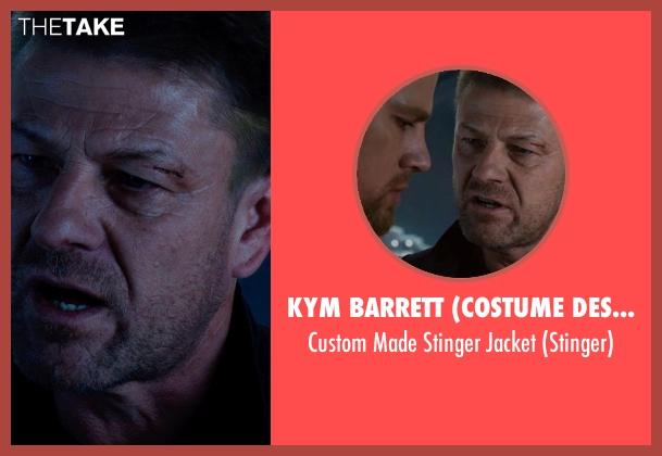 Kym Barrett (Costume Designer) jacket from Jupiter Ascending seen with Sean Bean (Stinger)