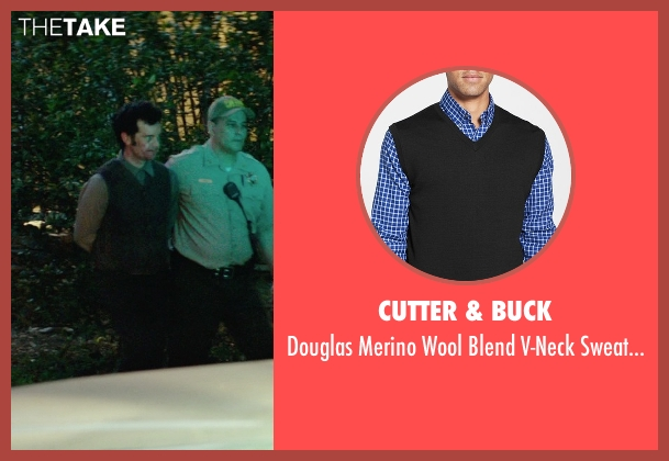 Cutter & Buck black vest from The Best of Me seen with Sean Bridgers (Tommy Cole)