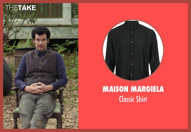 Maison Margiela blue shirt from The Best of Me seen with Sean Bridgers (Tommy Cole)