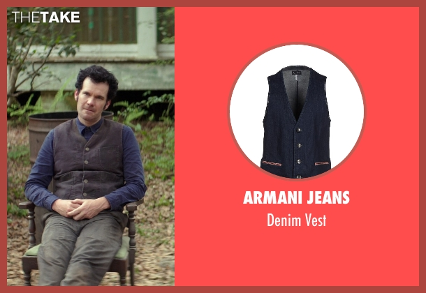 Armani Jeans blue vest from The Best of Me seen with Sean Bridgers (Tommy Cole)