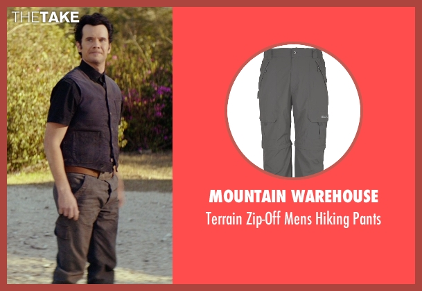 Mountain Warehouse gray pants from The Best of Me seen with Sean Bridgers (Tommy Cole)