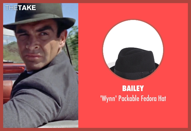 Bailey black hat from Dr. No seen with Sean Connery (James Bond)
