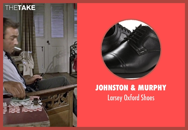 Johnston & Murphy black shoes from Dr. No seen with Sean Connery (James Bond)