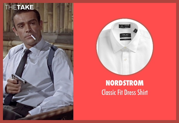 Nordstrom white shirt from Dr. No seen with Sean Connery (James Bond)