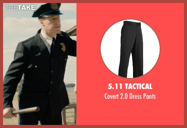 5.11 Tactical black pants from Unbroken seen with Sean Edward Frazer (US Officer P.O.W)