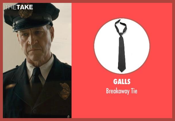 Galls black tie from Unbroken seen with Sean Edward Frazer (US Officer P.O.W)