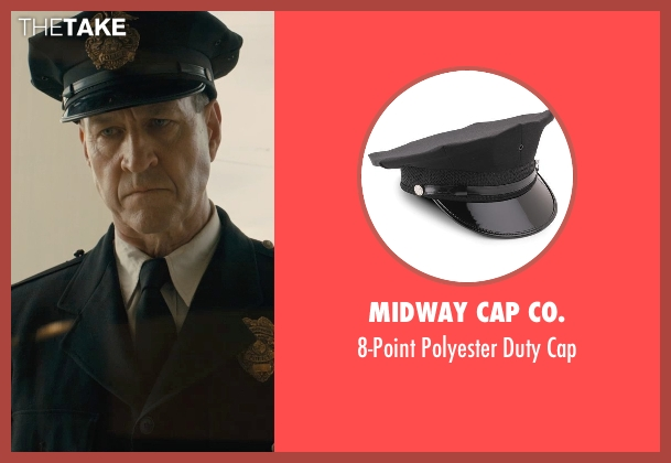 Midway Cap Co. cap from Unbroken seen with Sean Edward Frazer (US Officer P.O.W)
