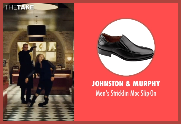 Johnston & Murphy black slip-on from Mission: Impossible - Rogue Nation seen with Sean Harris (Solomon Lane)