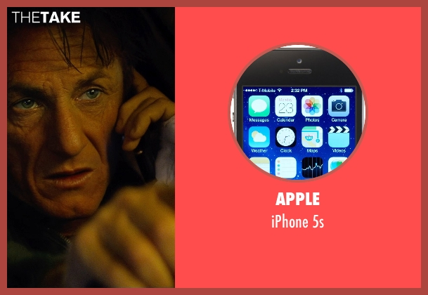 Apple 5s from The Gunman seen with Sean Penn (Jim Terrier)