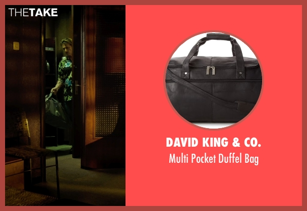 David King & Co. black bag from The Gunman seen with Sean Penn (Jim Terrier)