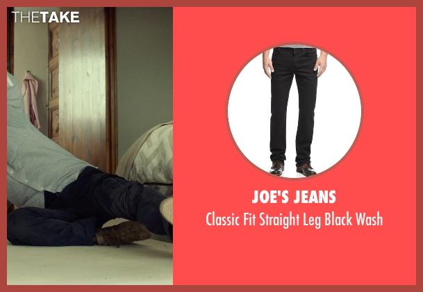 Joe's Jeans black wash from The Gunman seen with Sean Penn (Jim Terrier)