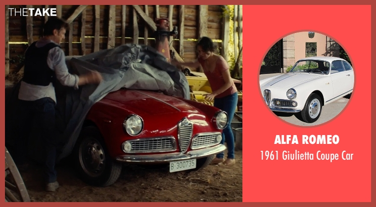 Alfa Romeo car from The Gunman seen with Sean Penn (Jim Terrier)