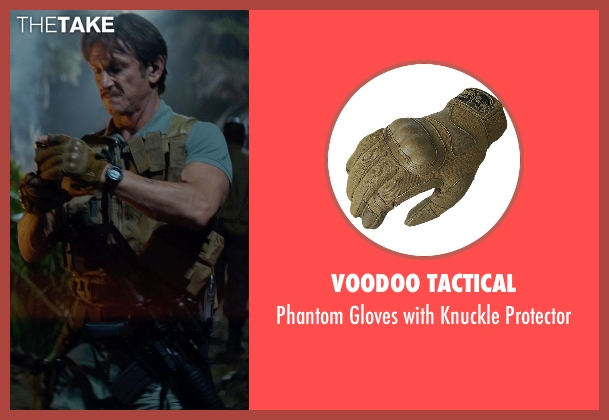 Voodoo Tactical green protector from The Gunman seen with Sean Penn (Jim Terrier)