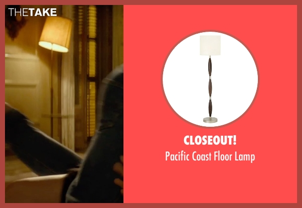 Closeout! lamp from The Gunman seen with Sean Penn (Jim Terrier)