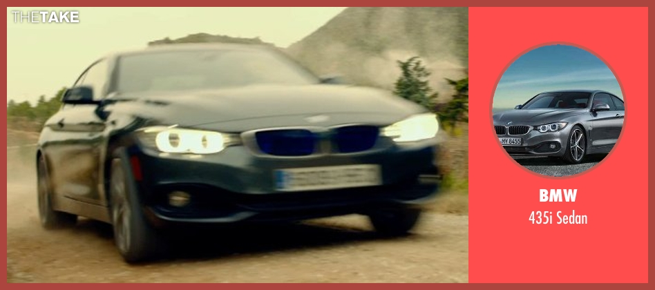 BMW sedan from The Gunman seen with Sean Penn (Jim Terrier)