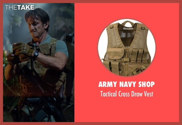 Army Navy Shop vest from The Gunman seen with Sean Penn (Jim Terrier)