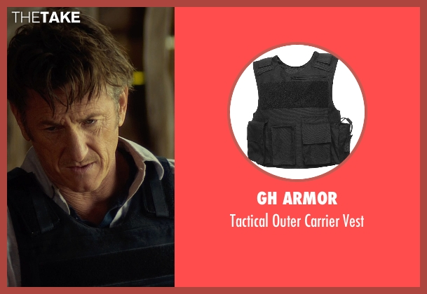 GH Armor vest from The Gunman seen with Sean Penn (Jim Terrier)