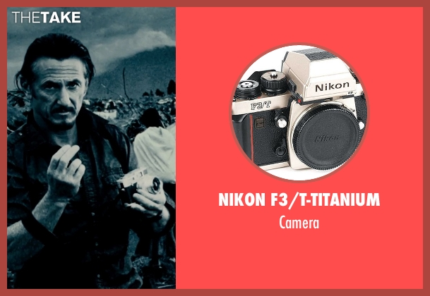 Nikon F3/T-Titanium camera from The Secret Life of Walter Mitty seen with Sean Penn (Sean O'Connell)