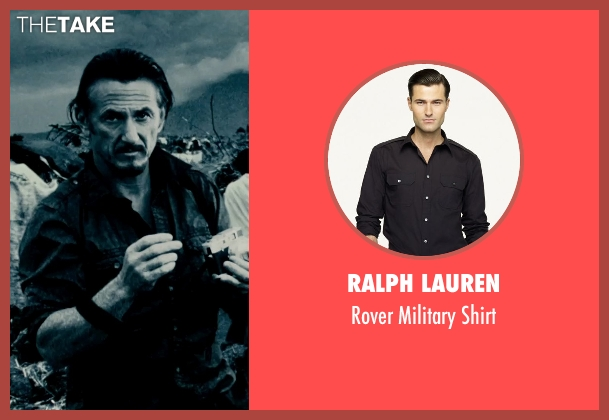 Ralph Lauren shirt from The Secret Life of Walter Mitty seen with Sean Penn (Sean O'Connell)