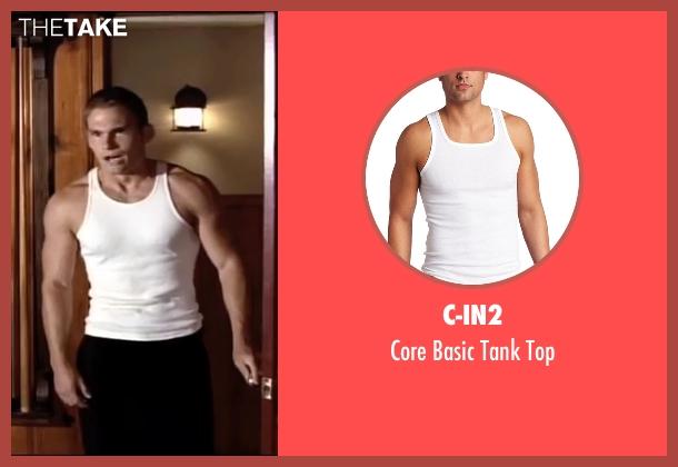 C-IN2 white top from American Pie seen with Seann William Scott (Steve Stifler)