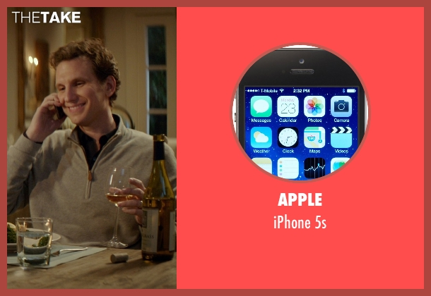 Apple 5s from The Best of Me seen with Sebastian Arcelus (Frank)