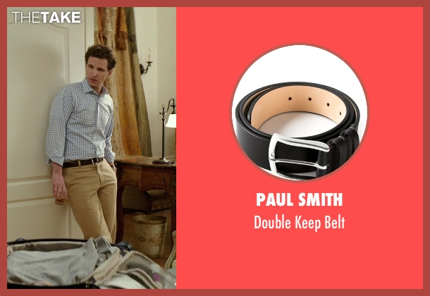 Paul Smith black belt from The Best of Me seen with Sebastian Arcelus (Frank)