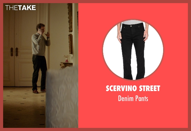 Scervino Street black pants from The Best of Me seen with Sebastian Arcelus (Frank)
