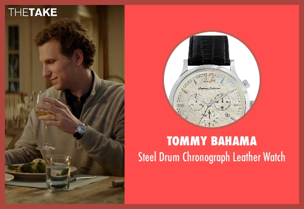 Tommy Bahama black watch from The Best of Me seen with Sebastian Arcelus (Frank)