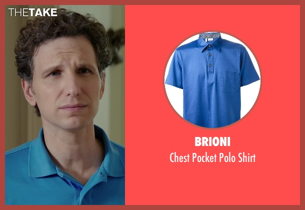 Brioni blue shirt from The Best of Me seen with Sebastian Arcelus (Frank)