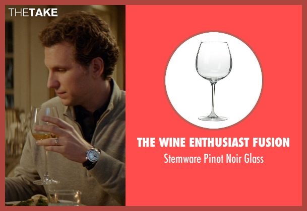 The Wine Enthusiast Fusion glass from The Best of Me seen with Sebastian Arcelus (Frank)