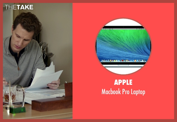 Apple laptop from The Best of Me seen with Sebastian Arcelus (Frank)