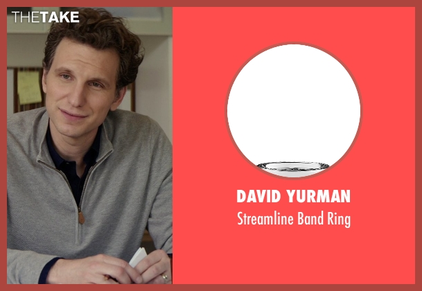 David Yurman silver ring from The Best of Me seen with Sebastian Arcelus (Frank)