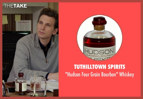 Tuthilltown Spirits whiskey from The Best of Me seen with Sebastian Arcelus (Frank)