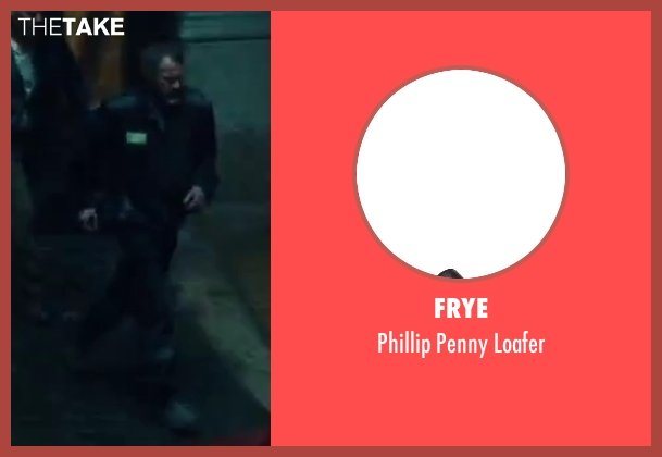 Frye black loafer from A Good Day to Die Hard seen with Sebastian Koch (Komarov)