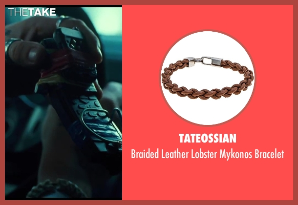 Tateossian brown bracelet from A Good Day to Die Hard seen with Sebastian Koch (Alik)