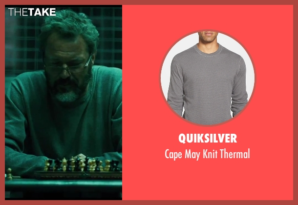 Quiksilver gray thermal from A Good Day to Die Hard seen with Sebastian Koch (Komarov)
