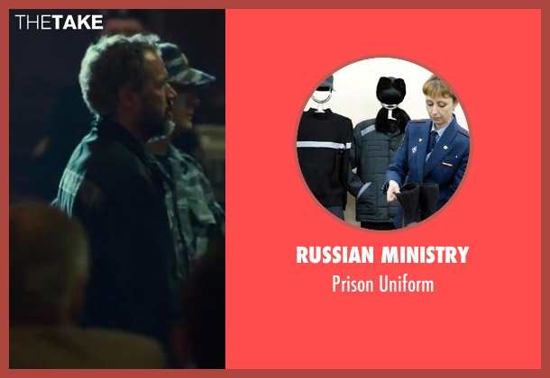 Russian Ministry uniform from A Good Day to Die Hard seen with Sebastian Koch (Komarov)