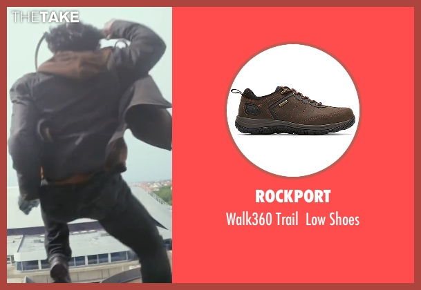Rockport brown shoes from Captain America: Civil War seen with Sebastian Stan (Bucky Barnes / Winter Soldier)
