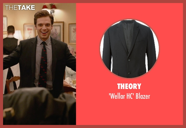 Theory black blazer from Ricki and the Flash seen with Sebastian Stan (Joshua)