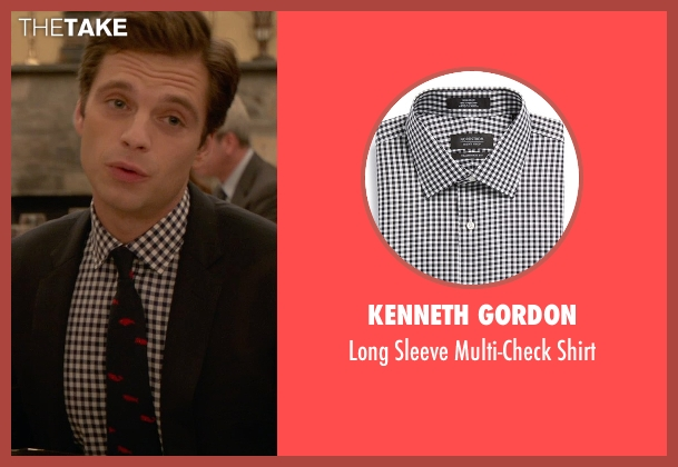 Kenneth Gordon black shirt from Ricki and the Flash seen with Sebastian Stan (Joshua)