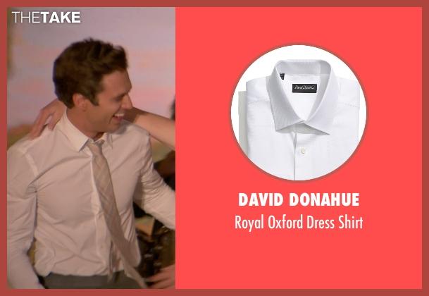 David Donahue white shirt from Ricki and the Flash seen with Sebastian Stan (Joshua)