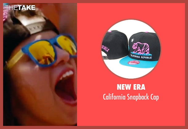 New Era black cap from Spring Breakers seen with Selena Gomez (Faith)