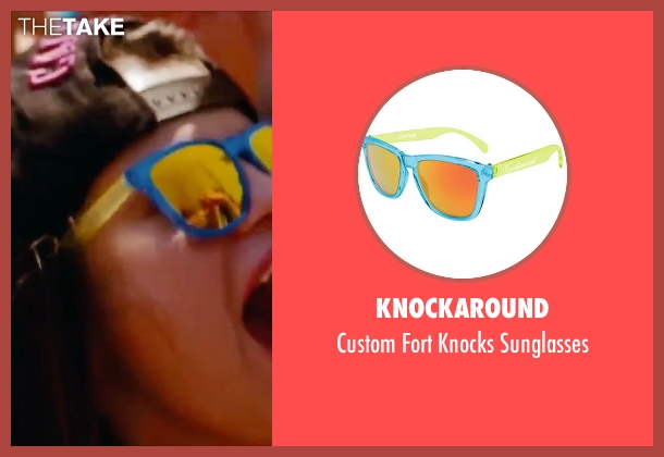 Knockaround sunglasses from Spring Breakers seen with Selena Gomez (Faith)