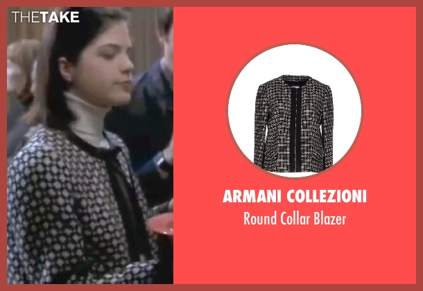 Armani Collezioni black blazer from Legally Blonde seen with Selma Blair (Vivian Kensington)
