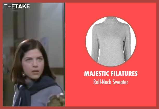 Majestic Filatures gray sweater from Legally Blonde seen with Selma Blair (Vivian Kensington)
