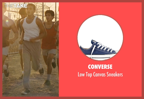 Converse blue sneakers from McFarland, USA seen with Sergio Avelar (Victor Puentes)
