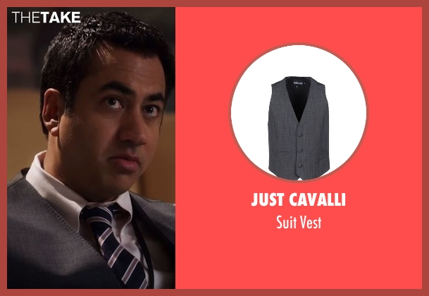 Just Cavalli gray vest from Designated Survivor seen with Seth (Kal Penn)